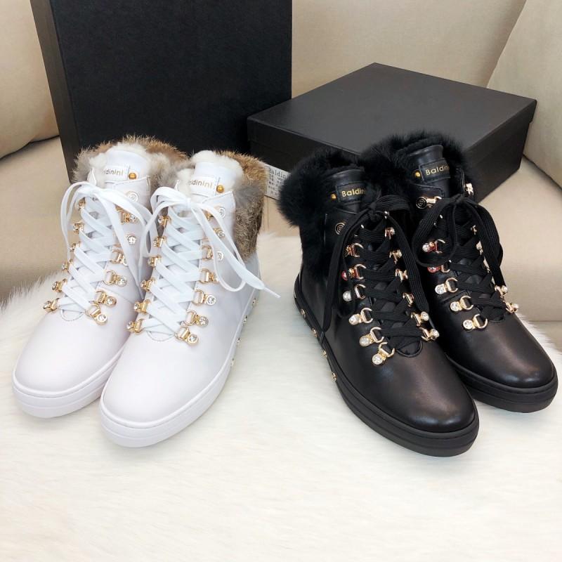 Европейские станции новый дерма женщины высокий обувь тепло шерсть снег сапоги красные розы случайный обувь женская большой двор 605653364562