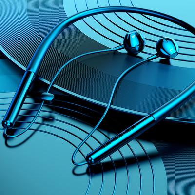 运动无线蓝牙颈挂脖式耳机双耳入耳式高音质单跑步型男女小型oppo小米vivo华为头戴式项圈挂耳式超长待机无限