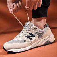 Мужской Обувь Весна 2020 новая коллекция NB кроссовки 580 корейская версия модные Матч для влюбленной пары n слово Кроссовки Shoes 999 мужской
