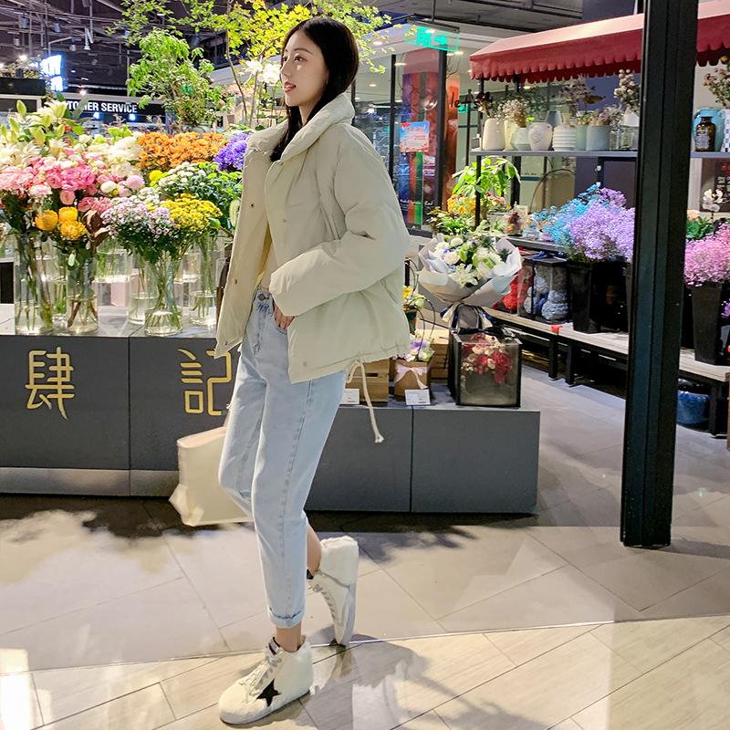羽绒棉服女ins2019新款冬季加厚外套棉袄韩版宽松bf学生面包服