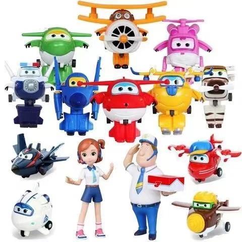 飞侠玩具套装全套大号变形机器人米莉小爱多