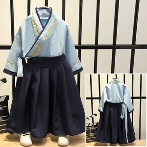 Boys Tang Suit for Kids Hanfu boys spring and summer Tang clothes children Chinese style suit