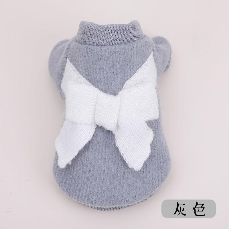 Quần áo chó mùa thu và quần áo mèo quần áo gấu bông Xiong Bomei chó nhỏ chó con chó con mùa thu quần áo vật nuôi - Quần áo & phụ kiện thú cưng