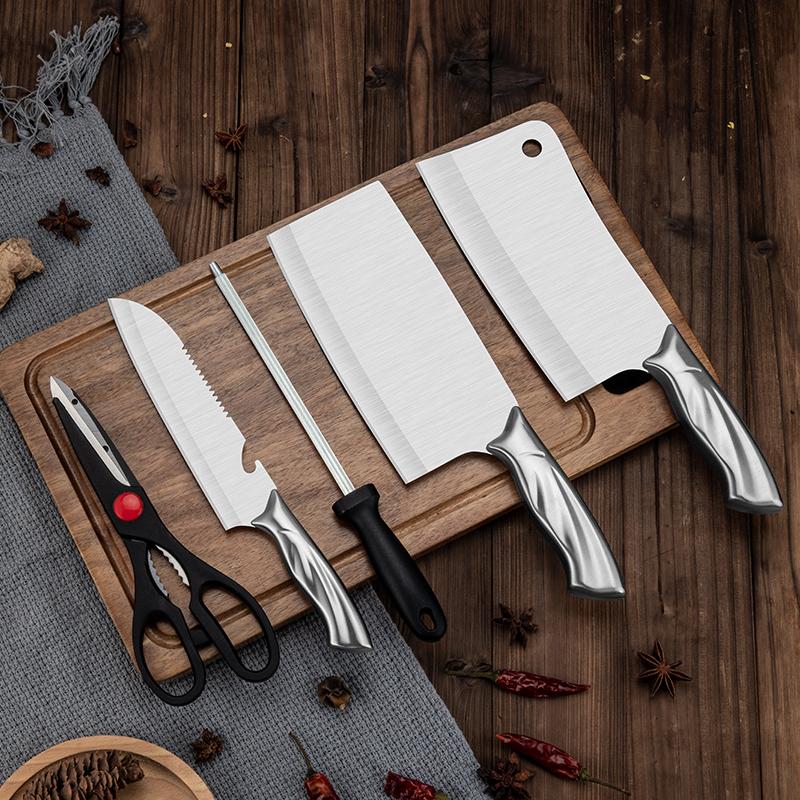 厨房刀具五件套凤尾刀柄六件套