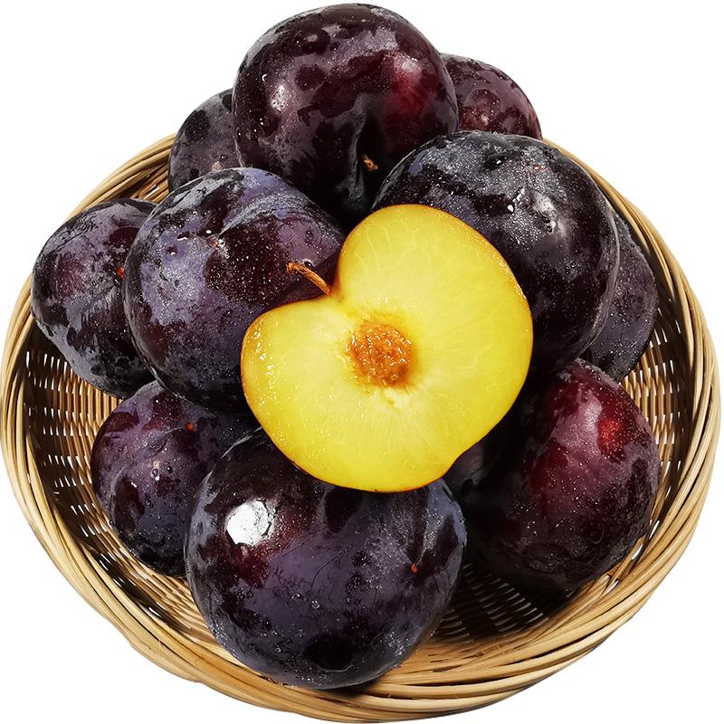 黑布林李子现货纯甜黑宝石布朗酸李子 当季新鲜现摘水果5斤装整箱