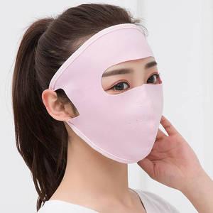 防晒面罩全脸冰丝女夏季防晒神器口鼻罩男脸基尼防紫外线遮阳口罩