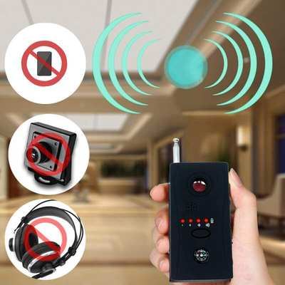 Hotel travel detector k98 infrared head portable multi-function detector anti-peeping anti-stealing detector