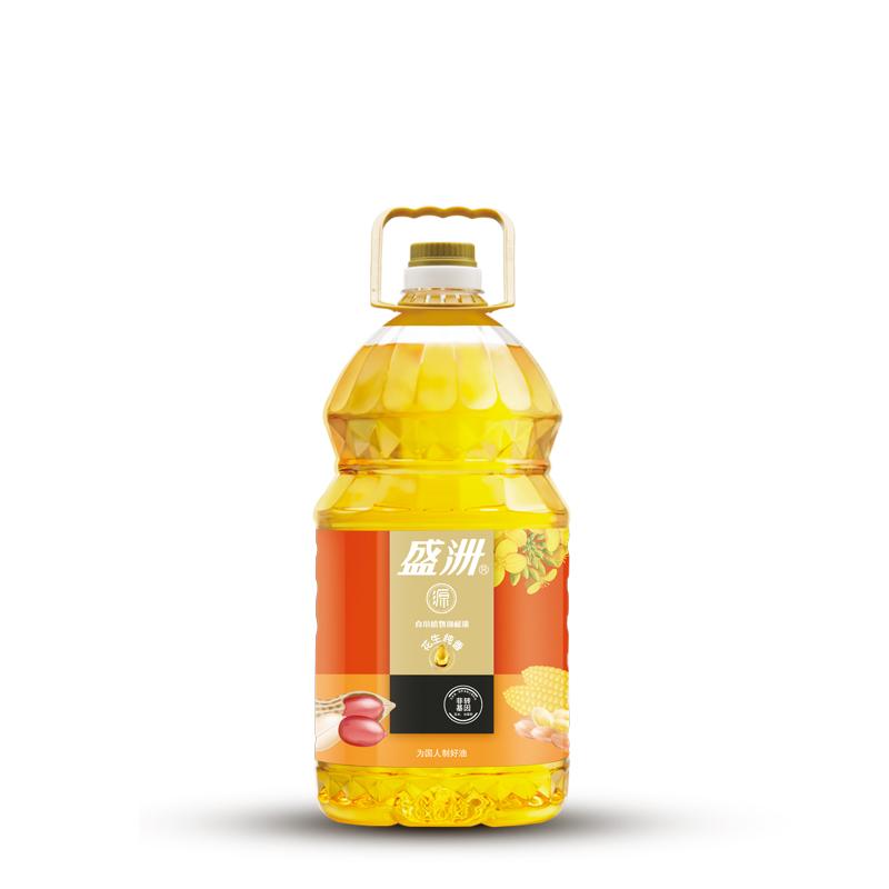 花生调和油非转基因食用油家用桶装