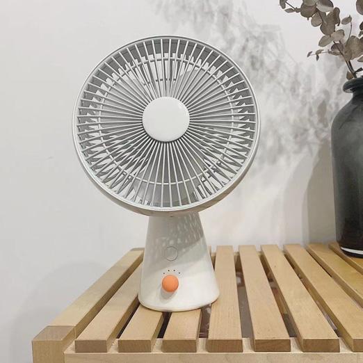 朗菲小风车手持usb小风扇便携办公室桌面摇头充插电静音家用小型