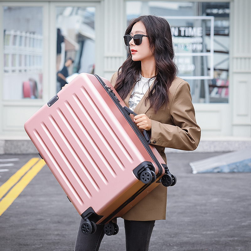 Pull box 20 inch male suitcase female password universal round boarding travel box student 22 inches 24 inches 28 inches
