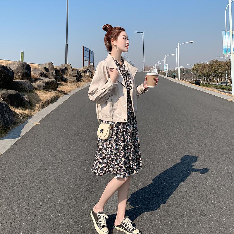 米魅儿皮衣外套女短款2021年新款宽松显瘦女款休闲机车风小皮夹克