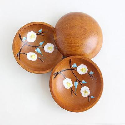 Cà phê tấm gỗ hạt dưa tấm hội trường đào hoa đào nhà tấm trái cây Q nhà trà phong cách Nhật Bản vẽ tay bằng gỗ tròn - Tấm