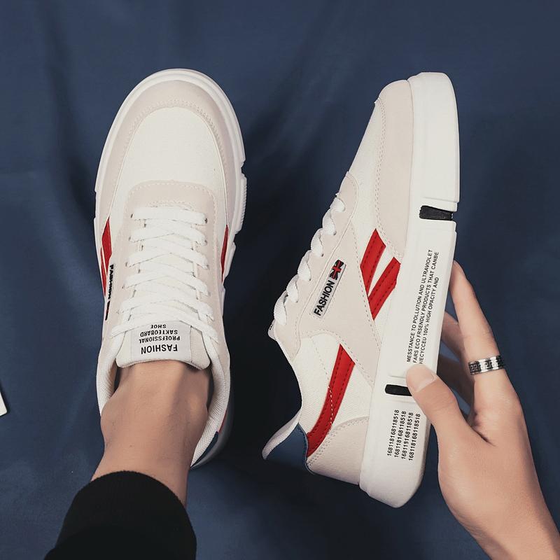 板鞋男2020新款韩版春款青少年学生厚底增高低帮百搭休闲运动潮鞋