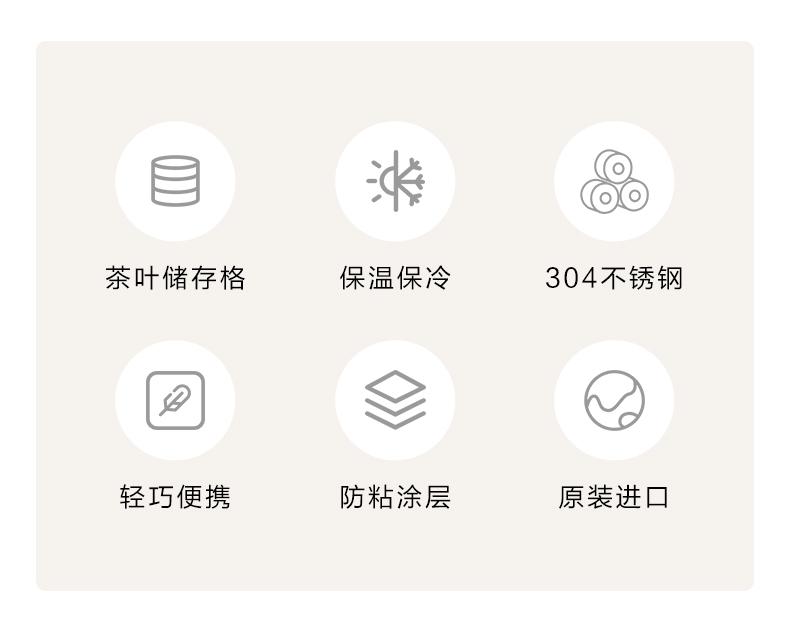 日本 象印 ASE50 不锈钢保温杯 500ml 自带储物格 图2
