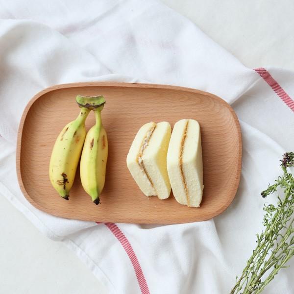Toàn bộ gỗ! Khay gỗ lớn và nhỏ Khay gỗ hình chữ nhật Khay trà hình chữ nhật Gỗ sồi tấm tấm ăn tối tráng miệng đĩa gỗ đĩa trái cây - Tấm