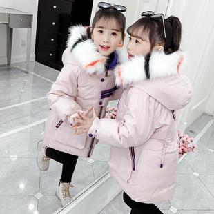 【尚帛娅】女童加厚棉衣保暖棉袄外套