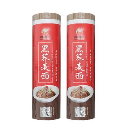 【创益面业旗舰店】荞麦面无糖低脂800g*3大包