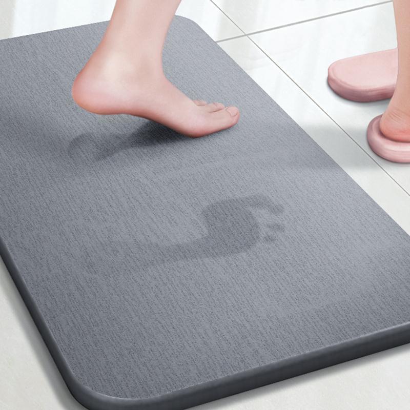 硅藻泥地垫吸水防滑垫家用速干脚垫卫生间超强吸水浴室淋浴房地垫