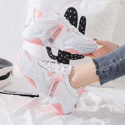 2020春季小白鞋女韩版学生跑步板鞋
