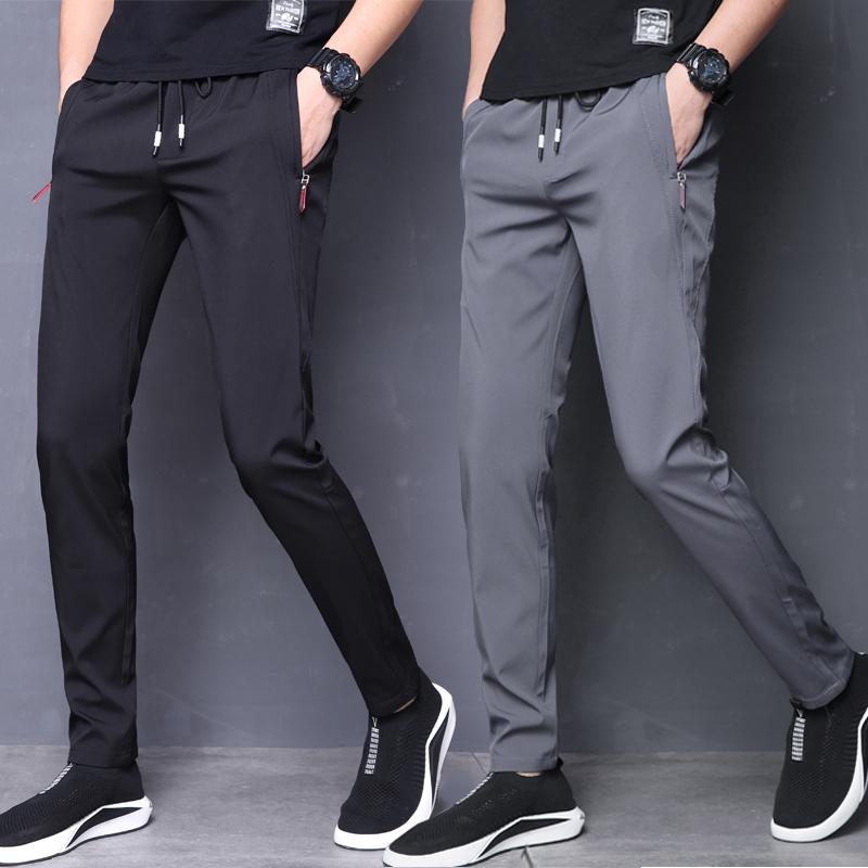 男冬季运动裤羊羔绒休闲裤加厚保暖