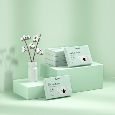 yuniku优尼可婴儿乳霜柔纸巾宝宝专用超柔保湿纸40抽5包手帕纸
