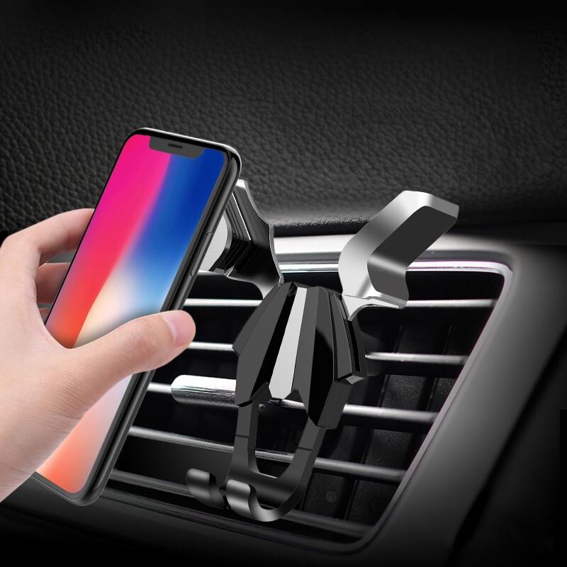 车载手机支架创意联动手机支架车载空调出风口导航多功能手机支架