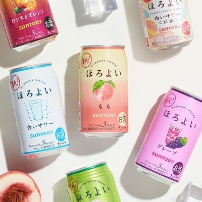 【临期】Suntory/三得利和乐怡预调酒鸡尾酒日本进口 350mL*6罐
