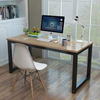Computer desk computer gaming table North European steel w