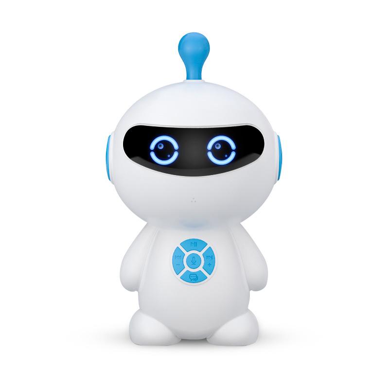 淘气精灵智能早教学习机器人儿童益智教育宝宝玩具男女孩高科技多功能人工语音对话小谷小度ai云陪伴故事机
