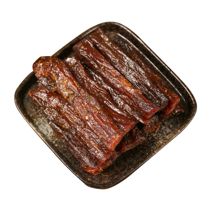 手撕卤味牛肉干500g麻辣五香四川小吃零食特产真空熟食独立包装