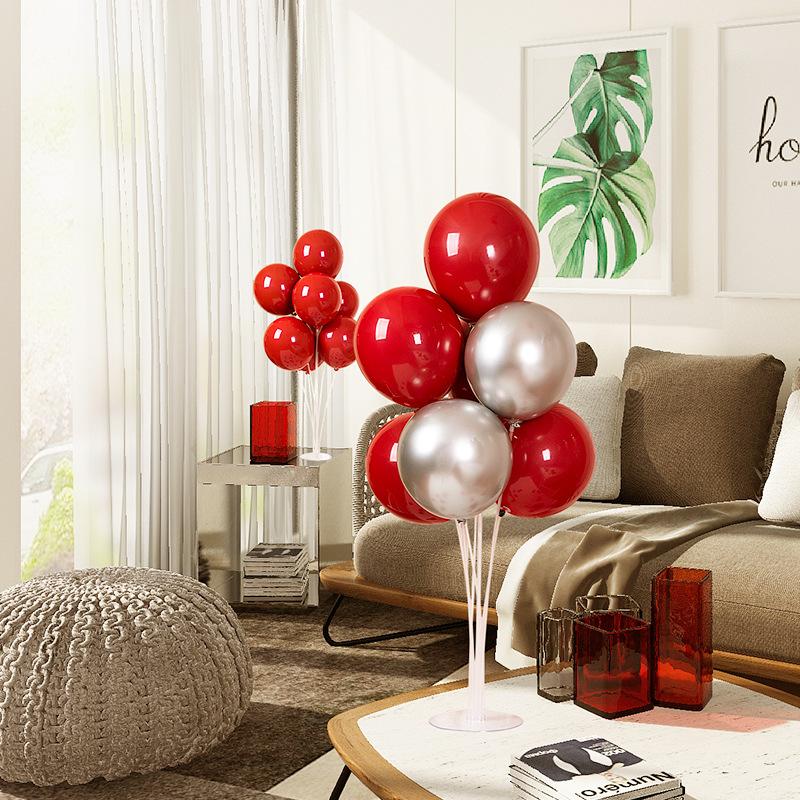 网红加厚金属金色气球结婚浪漫婚房装饰生日派对场景布置婚庆用品