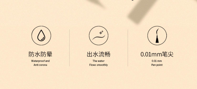 【拍3件】夏资兰小金条眉笔唇釉眼线笔