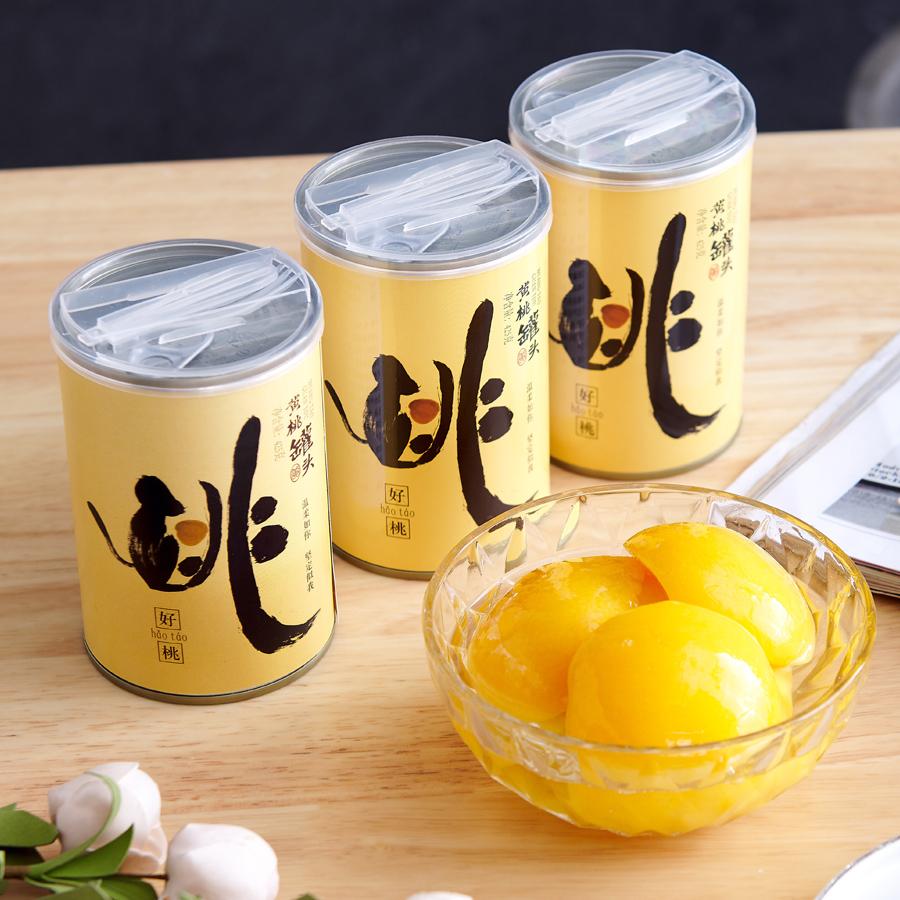 黄桃罐头425g*4罐