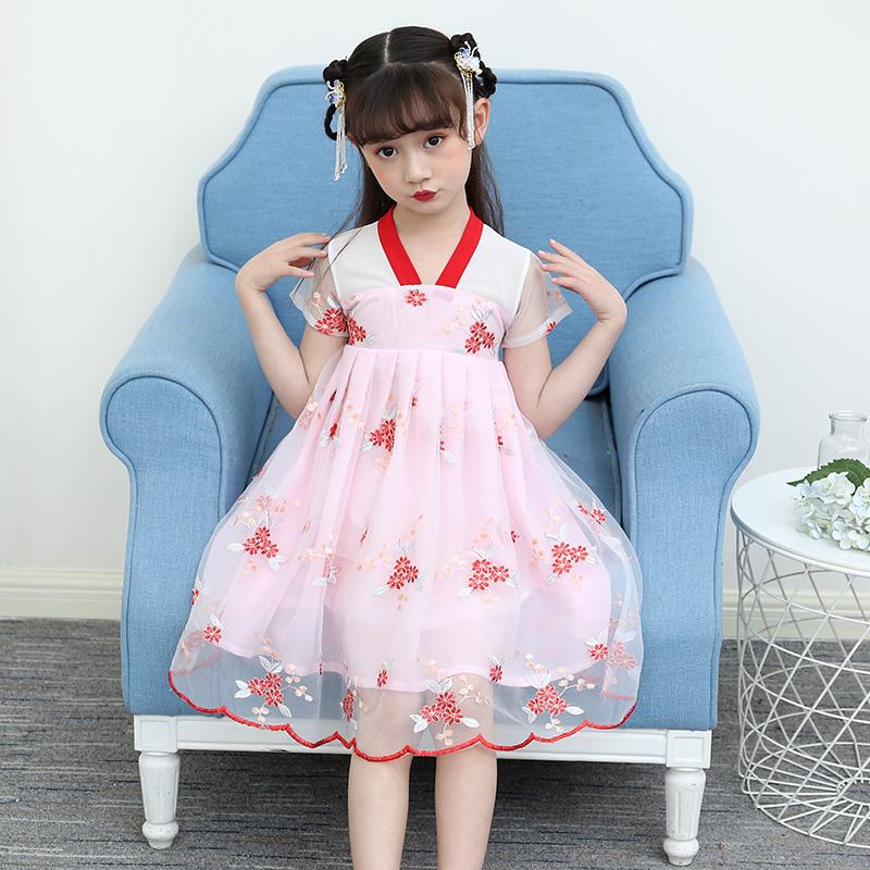 【仙气飘飘】汉服女童夏装连衣裙