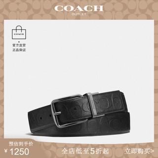 Другое,  COACH/ кардамон галоп мужской седло пряжка можно вырезать мода похвалы дикий текстура кожаный ремень дуплекс ремень, цена 14440 руб