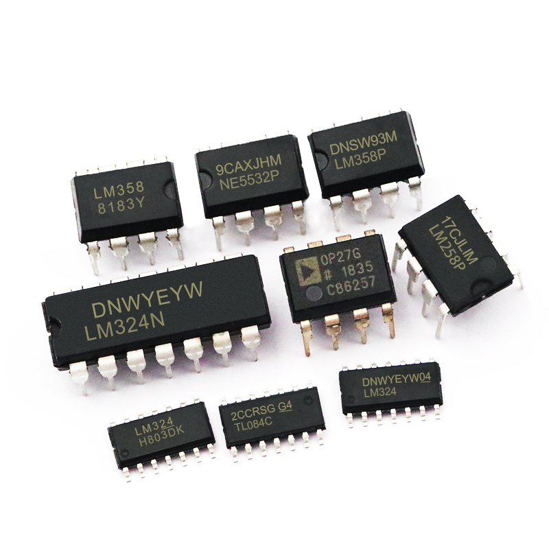 LM324N LM324 Dual/Quadruple Operational Amplifier LM224/258/358/386 Chip  Integrated Circuit