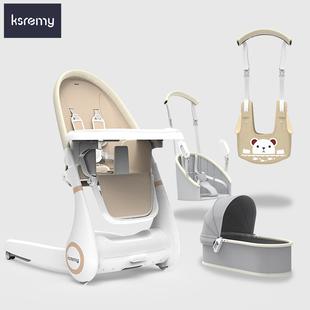 四合一多功能可折叠宝宝推餐椅