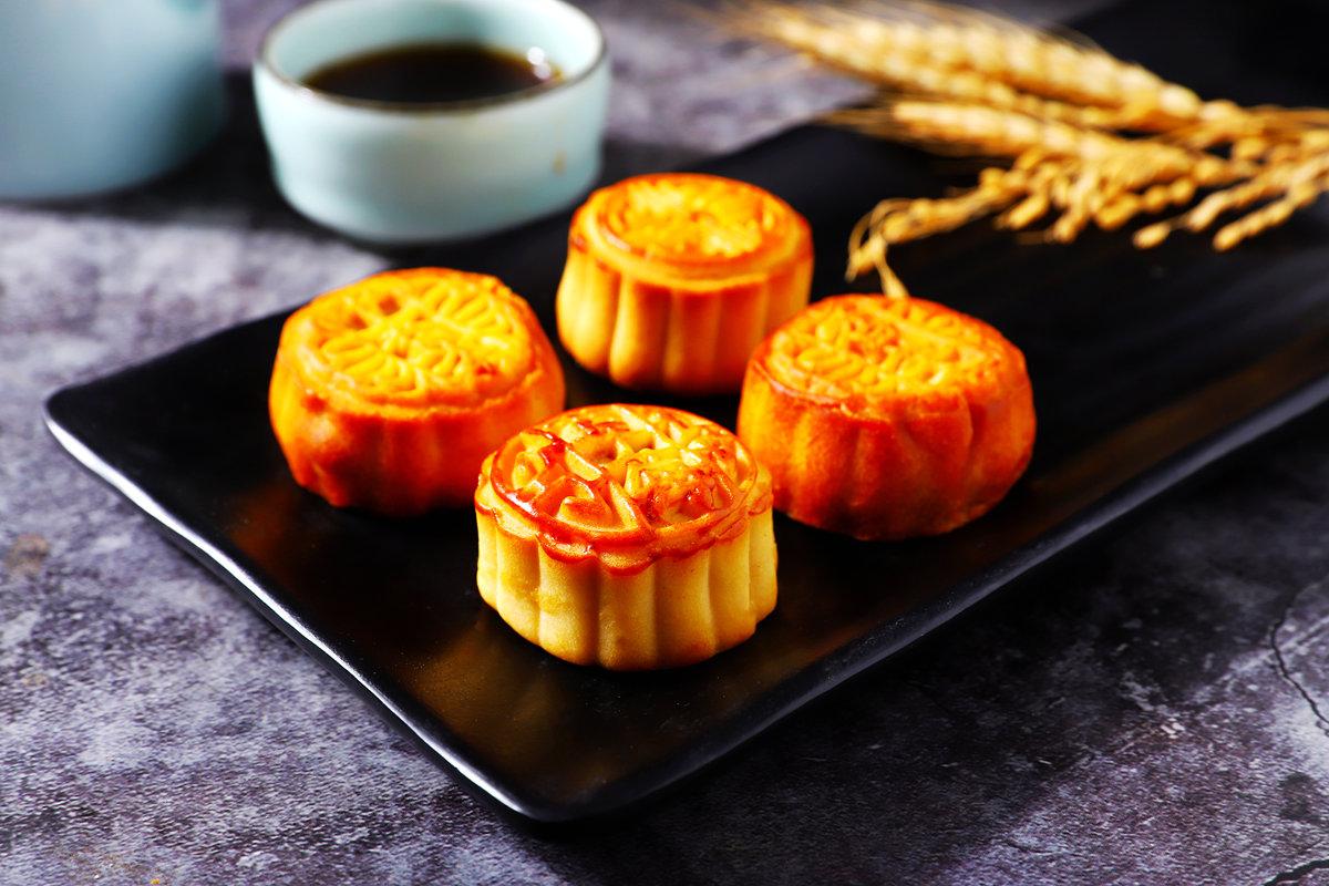 迷你小月饼散装多口味五仁豆沙红枣中秋小月饼水果味点心30个一箱
