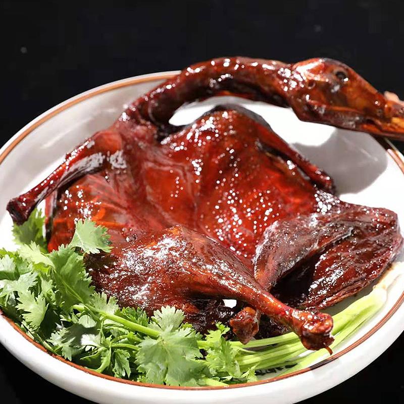 匠老鸭酱板鸭湖南∮特产正宗手撕鸭肉300g微辣整只鸭零食常德▲小吃