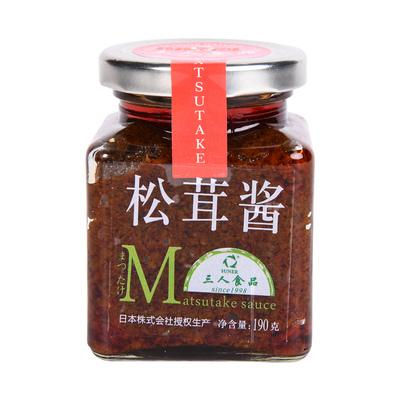美味松茸酱云南野生菌酱下饭酱不辣调味酱菌菇酱 首页领劵满减