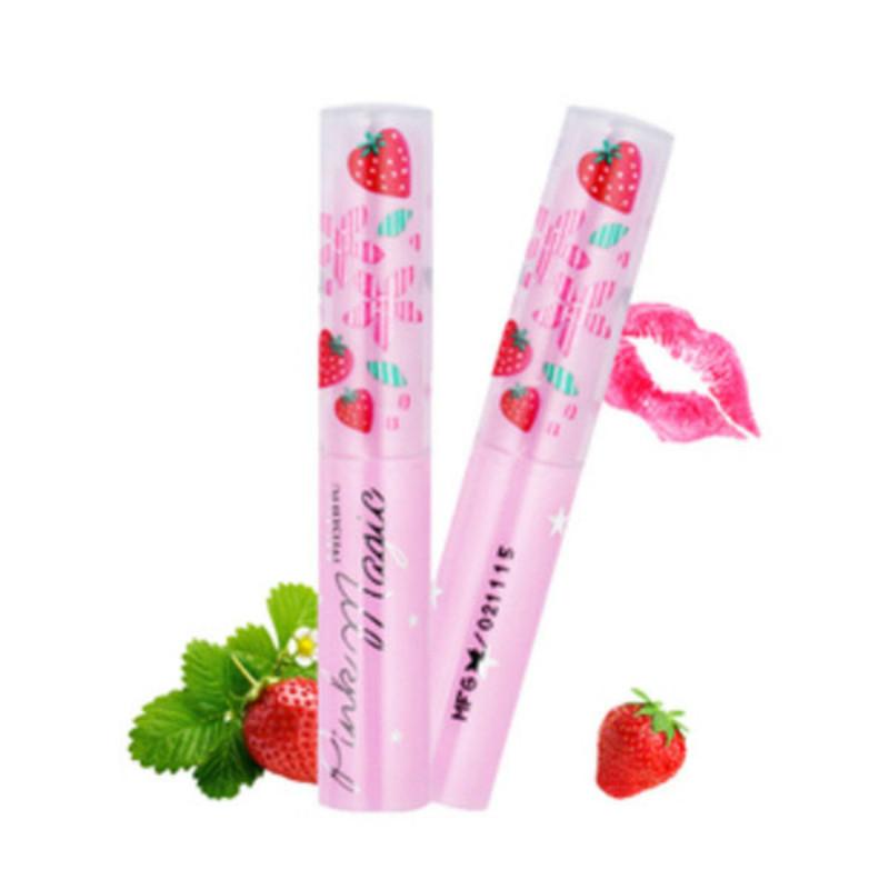 泰国正品Mistine小草莓变色唇膏保湿滋润补水彩妆持久润唇膏口红