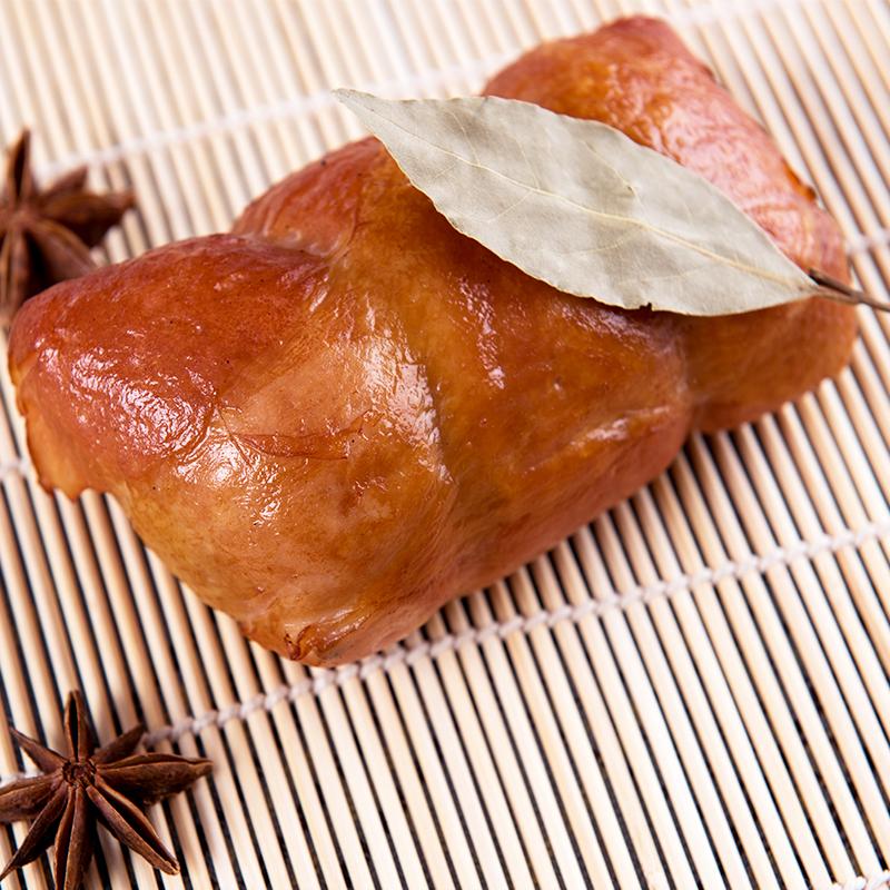 东北特色纯手工制作松花鸡腿肠250g美味皮蛋肠熟食卤味小吃零食
