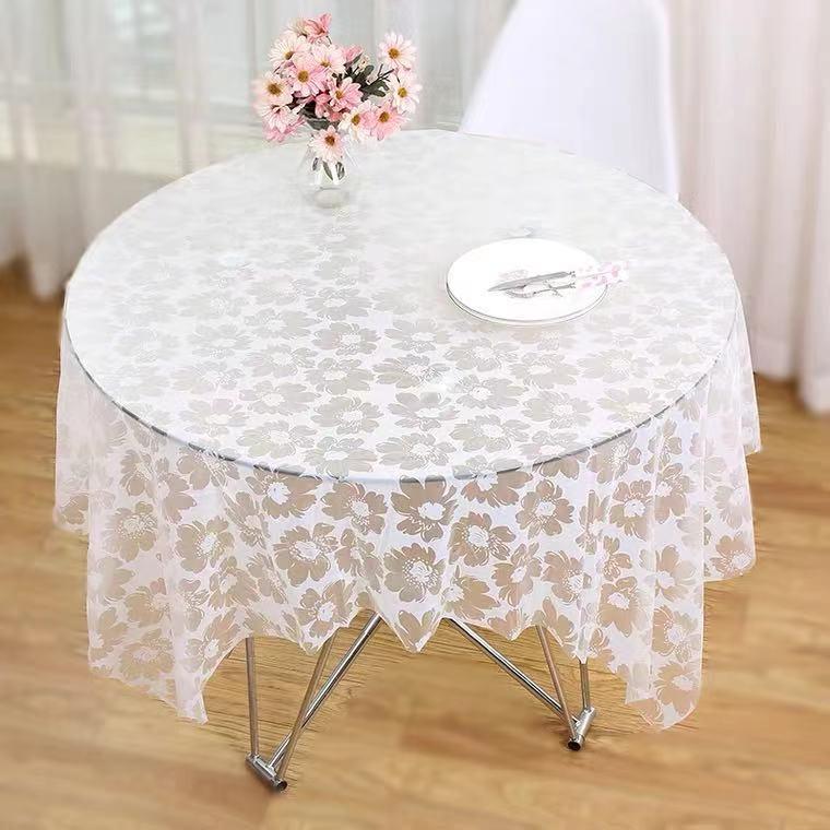 一次性桌布塑料长方形装饰家用儿童学校节日生日派对布置甜品桌布详细照片