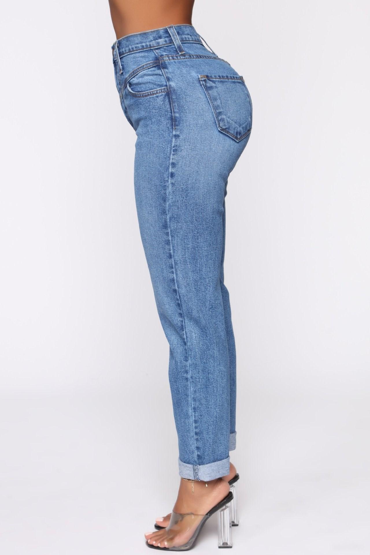 妮妮韓國服飾店~Conventional model restore ancient ways of tall waist Mom