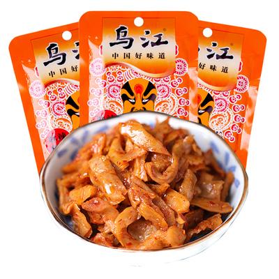 乌江麻辣萝卜干60g脆萝卜丝条涪陵榨菜开味下饭菜酱腌制咸菜泡菜