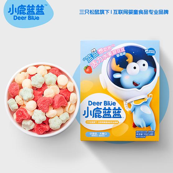 小鹿蓝蓝益生菌酸奶溶豆