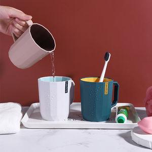 牙刷杯情侣漱口杯套装牙杯女学生旅行洗漱杯牙缸刷牙杯子家用