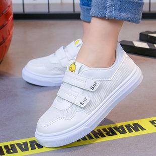 儿童春款运动鞋女中大童轻便休闲软底小白鞋