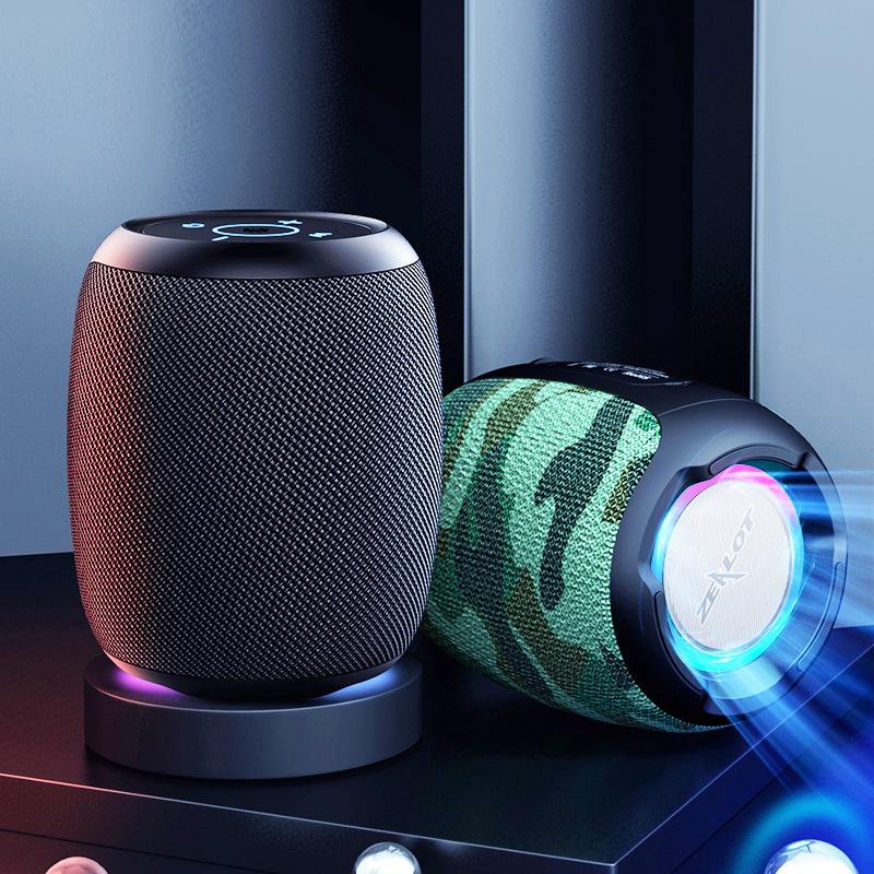 狂热者2021新款蓝牙音响高音质随身便携式迷你低音炮大音量手机网红音箱3d环绕家用插卡无线户外防水小型车载