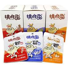 Choose to eat rabbit instant spicy mushroom 26 g 20 bags of mushroom bamboo shoots, lotus root snack spicy snacks next meal